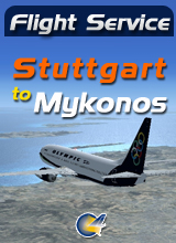 Perfect Flight - Flight Service  OA525 - Stuttgart to Mykonos