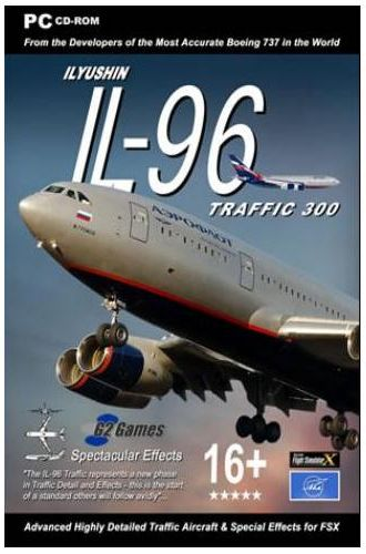 Ilyushin IL-96 Traffic 300 FSX