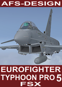 AFS - Eurofighter Typhon Professional 5 FSX