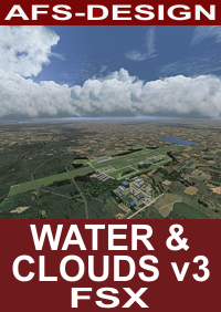 AFS - Water & Clouds FSX