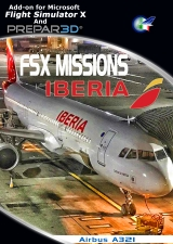 Perfect Flight - FSX Missions - Iberia A321 FSX/P3D