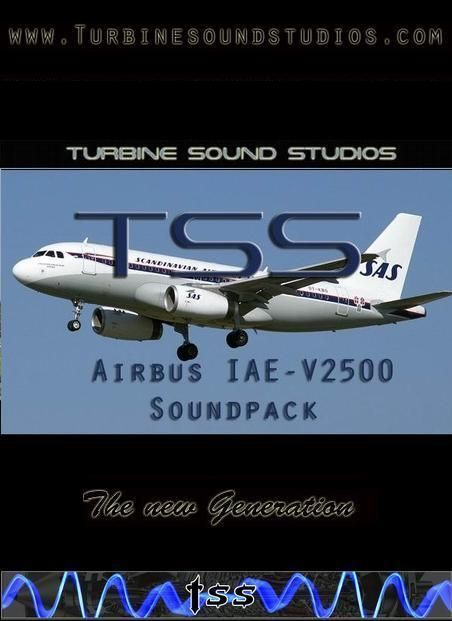 Airbus IAE-V2500 Sound Pack