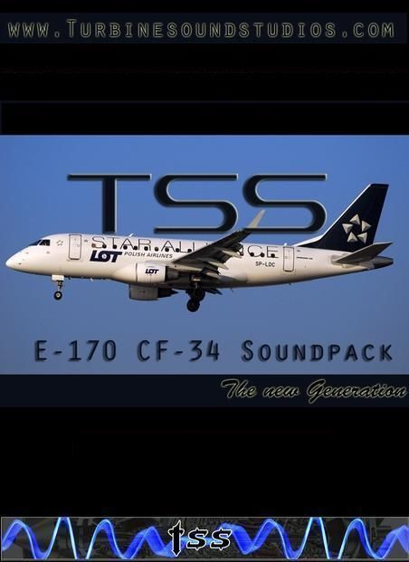 EMB-170 CF-34 SoundPack