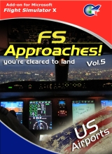 FS Approaches Vol. 5  US Airports