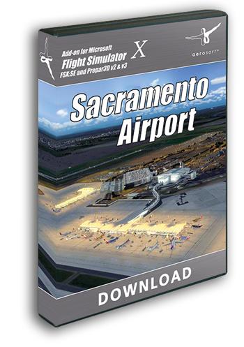 Aerosoft - Sacramento Airport