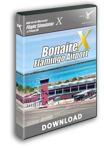 Aerosoft - Bonaire Flamingo Airport X