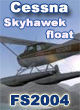 Carenado - Cessna 172N Skyhawk II Float FS2004