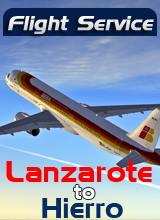 Perfect Flight - Flight Service IB304 - Lanzarote to Hierro