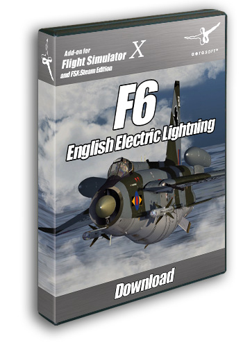 Aerosoft - English Electric Lightning F6