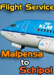 Perfect Flight - Flight Service: Malpensa to Schiphol