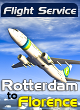 Perfect Flight - Flight Service HV822 - Rotterdam to Florence