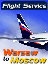 Perfect Flight - Flight Service  SU335 - Warsaw to Moscow