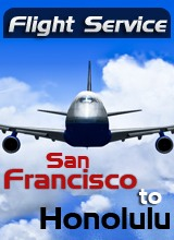 Perfect Flight - Flight Service: UA274 San Francisco to Honolulu