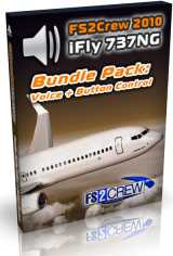 FS2Crew - iFly 737NG Voice and Button Control Special Bundle Pac