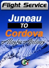 Flight Service  AS187 - Juneau to Cordova