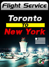 Flight Service - US833 - Toronto to New York