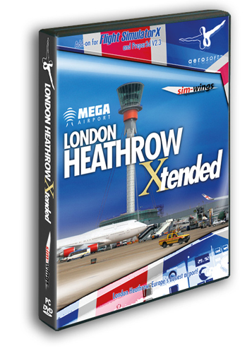 Aerosoft - Mega Airport London Heathrow Xtended