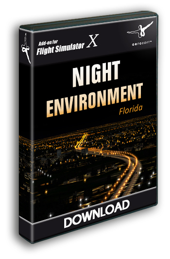 Aerosoft - Night Environment - Florida