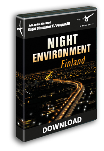 Aerosoft - Night Environment - Finland