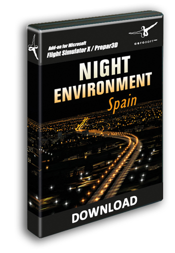 Aerosoft - Night Environment Spain