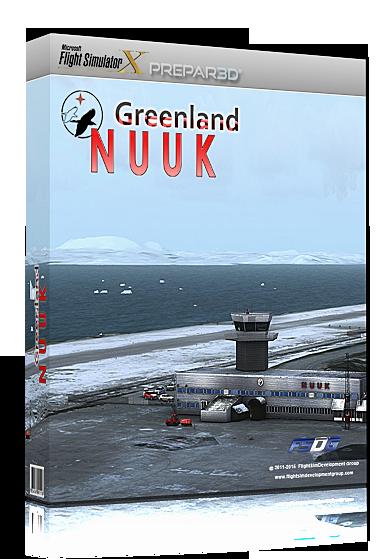 Aerosoft - Greenland - Nuuk X