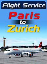 Perfect Flight - Flight Service  LX416 - Paris to Zurich