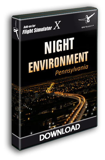 Aerosoft - Night Environment Pennsylvania