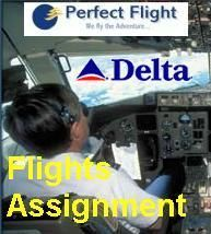 Flight Assignment Delta Md-88