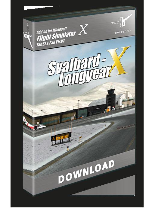 Aerosoft - Svalbard-Longyear X