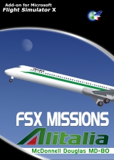 Perfect Flight - FSX Missions Alitalia MD-80