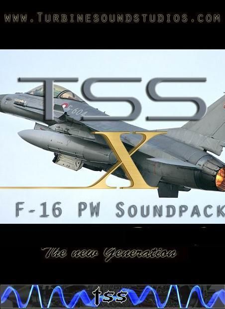 F-16 PW F-100 Soundpack X