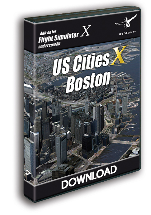 Aerosoft - US Cities X - Boston