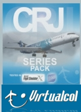 Virtualcol - CRJ Series Pack FSX/P3D