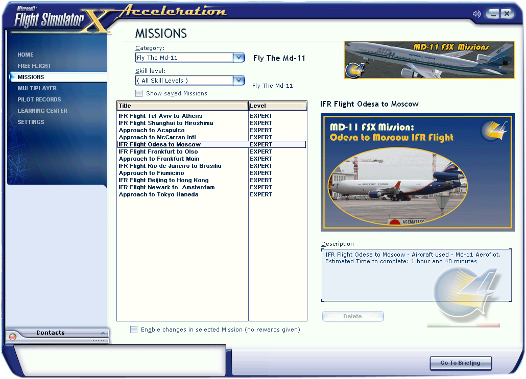 Welcome to Perfect Flight » FSX Missions – Ryanair