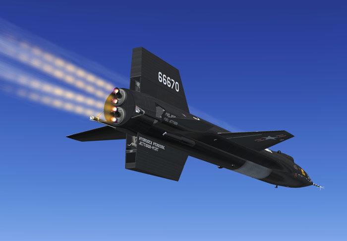The X15 Rocket Plane  University of Nebraska